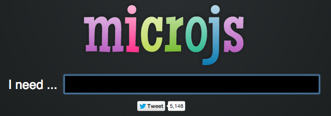 Main Image of microjs